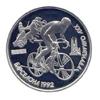 1 рубль 1991 года Памятные монеты, посвященные XXV летним Олимпийским играм в Барселоне. (Велосипед)